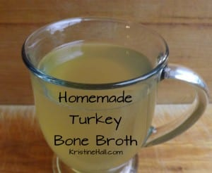 how to make homemade turkey bone broth