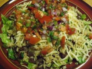cajun black bean salad