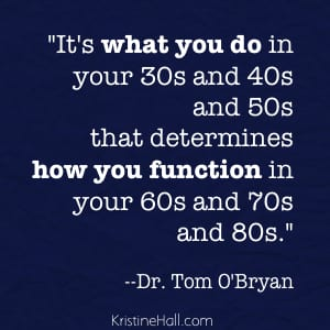 tom obryan what you do quote