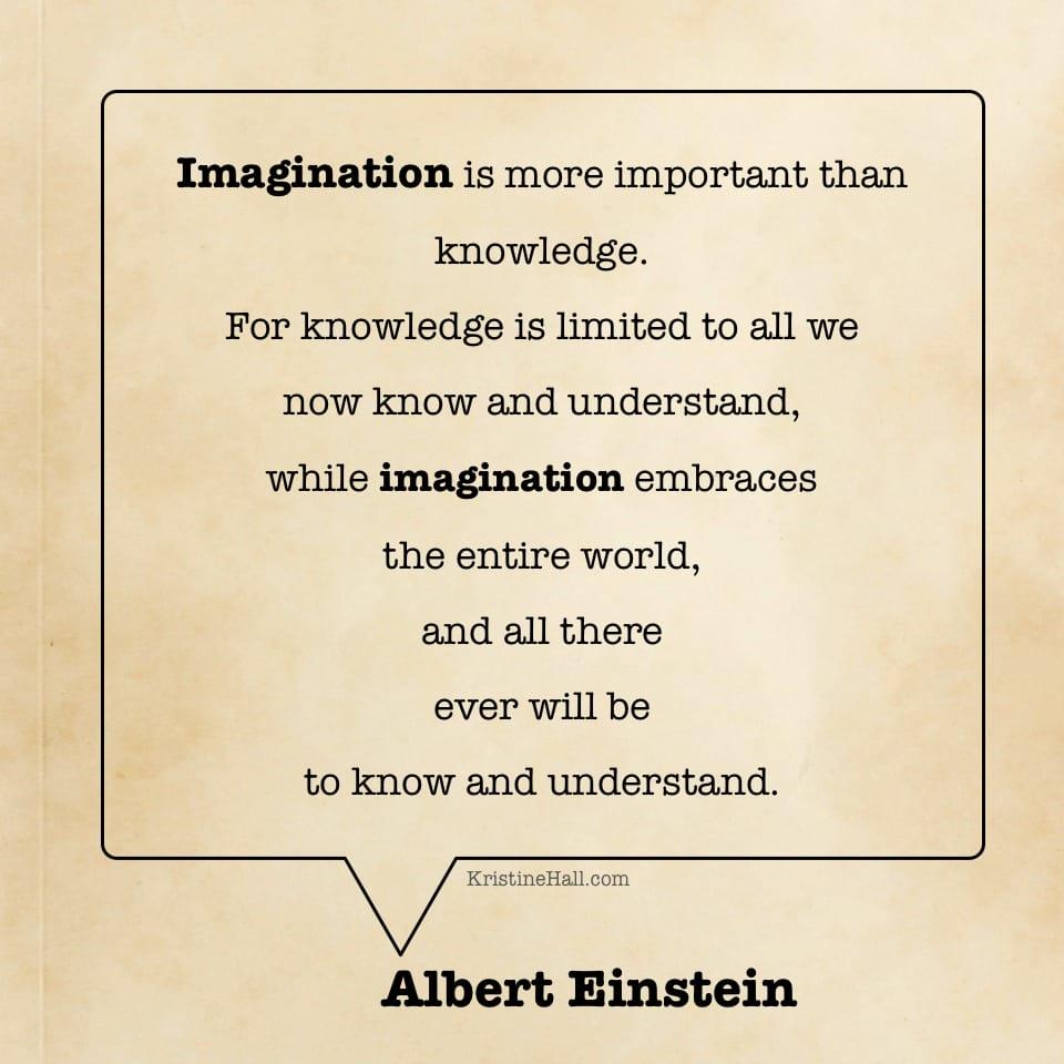 albert einstein quote imagination
