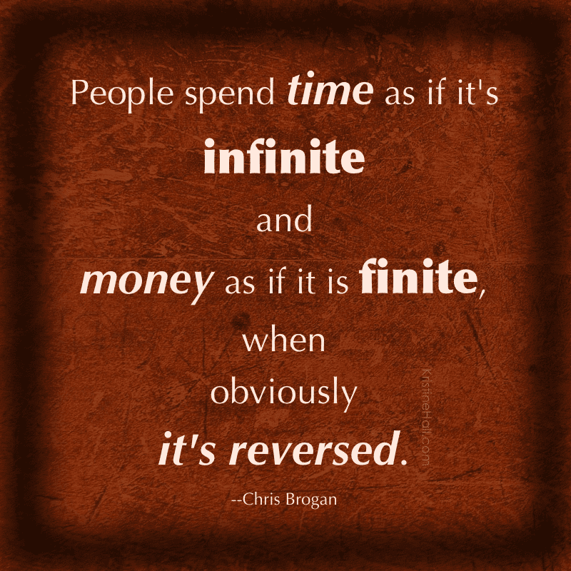 chris brogan time quote