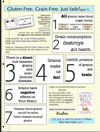wheat belly total health takeaways part 1 image