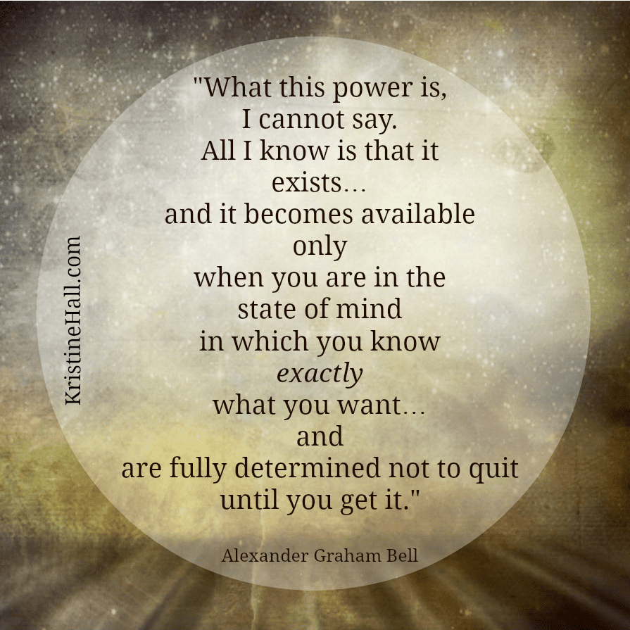 Alexander Graham Bell quote power