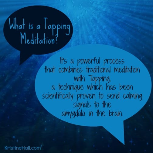 what is a tapping meditation