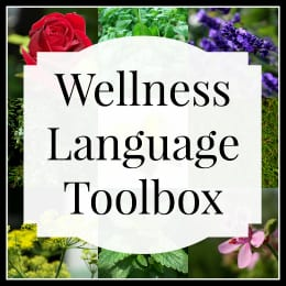 Wellness Language Toolbox logo