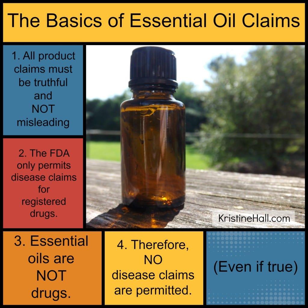 basics of essential oil claims